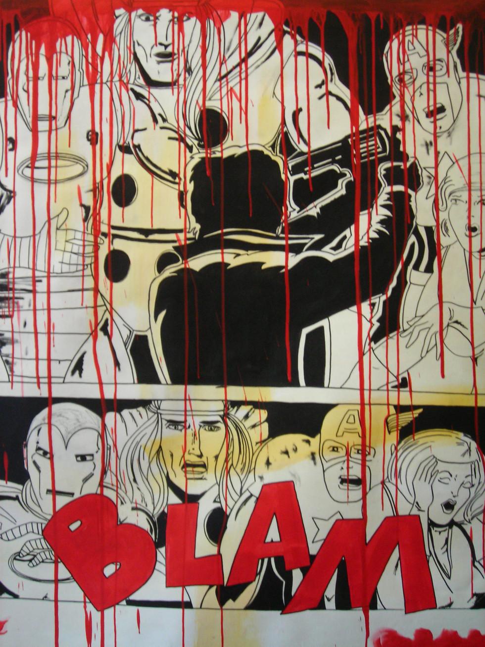 Bruno Giordano `untitled` mixed media on