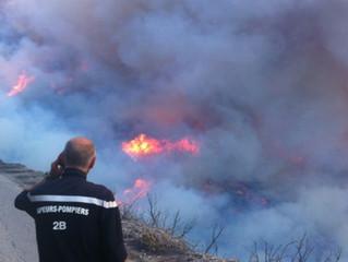 Les sapeurs-pompiers de Corse lancent un appel au secours !