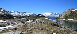 Lac du Petit et Mont Pourri