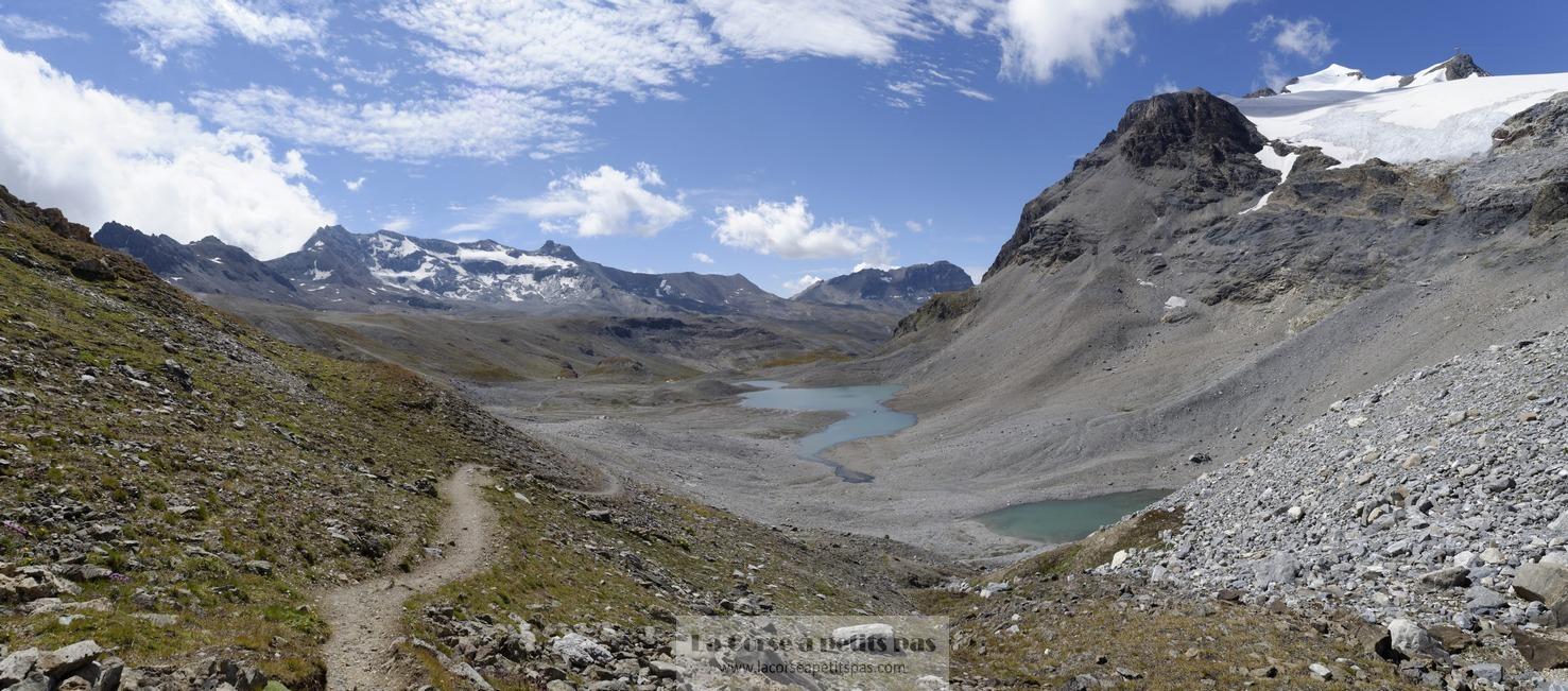 Lacs des Nettes et gl. Grande Motte