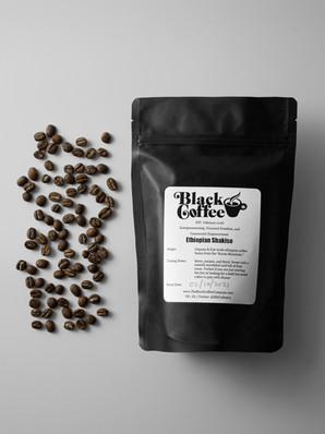 Organic Direct-Trade Black Coffee Beans