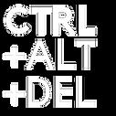 Ctrl +Alt +Del logo (white).png