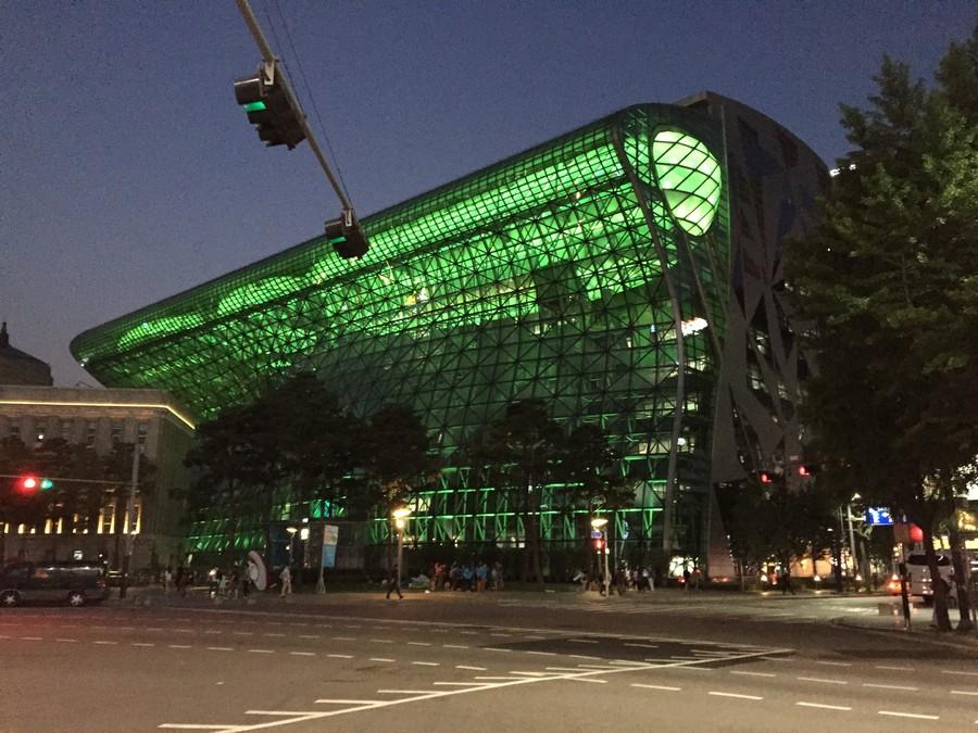 Exposition à Seoul