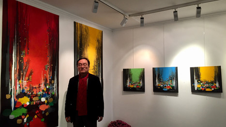 "Exposition solo "" The light of the EAST "" KIM SEOKKI"