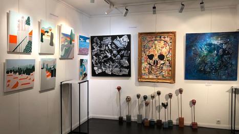 Vernissage des expositions collectives de rentrée