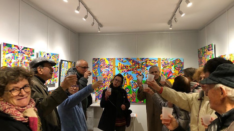 Vernissage des expositions collectives et solo