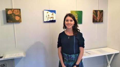 Vernissage de l'exposition personnelle d'Alexandra Zakharova
