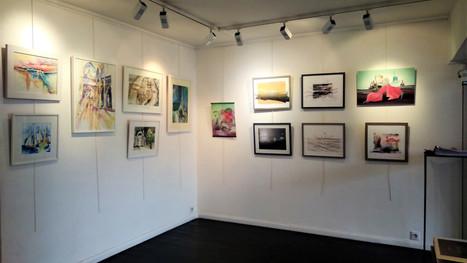 Vernissage de l'exposition collective : DAL, Jijey, Françoise Jetteur, Elisabeth Auer