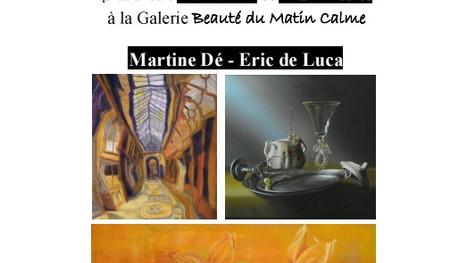 VERNISSAGE DE L'EXPOSITION COLLECTIVE DU 28 MAI