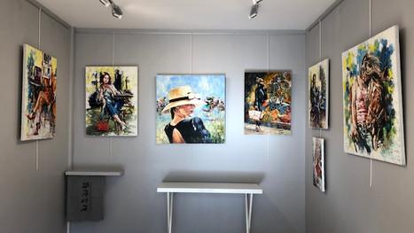 Vernissage des expositions collective et solo