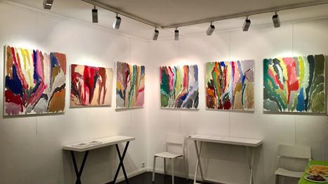 Vernissage de l'exposition personnelle d'Olivier Cantenys