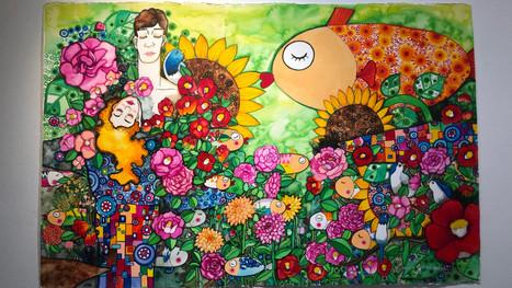 Vernissage de l'exposition personnelle de l'artiste Coréenne Do Hyeon Jang