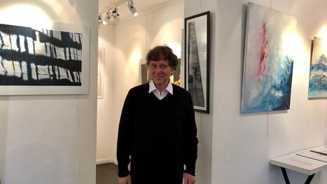 Vernissage de l'exposition collective de Thierry Ferrand, Jonathan Eden-Drummond et Christine de