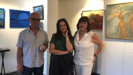 """Vernissage de l'exposition géorgienne """"Batumi-Paris"""""""