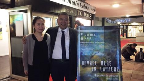 L'exposition ''Voyage vers la lumière''