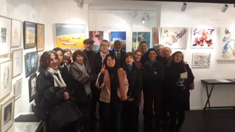 Du 18 au 31 janvier 2018, la Galerie Beauté Du Matin Calme a le plaisir de vous convier à l'expositi