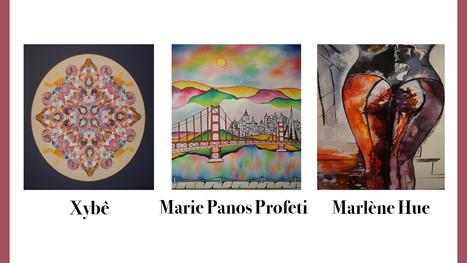 VERNISSAGE DE L'EXPOSITION D'ARTISTES PEINTRES