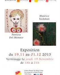 EXPOSITION DU 19 NOVEMBRE AU 1ER DÉCEMBRE 2015