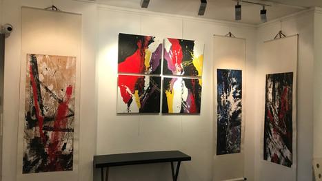 Vernissage de l'exposition de JIJEY et Jean-François Escande du 21 Février