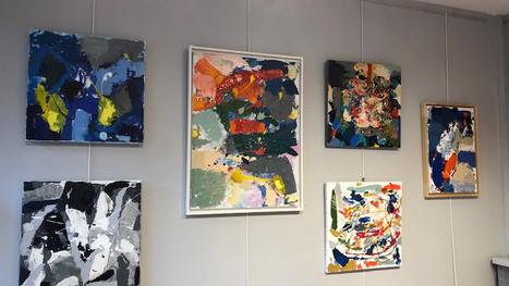 Vernissage de l'exposition collective et solo