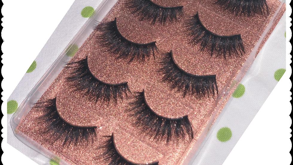 Lavish Princess - Mink 3D 100% human hair lashes
