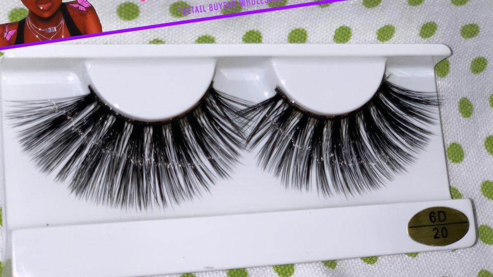 FLARE - 6D Mink 100% Human HAIR STYLE #20