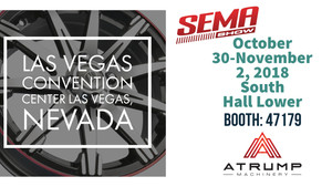 MEET US AT THE SEMA SHOW