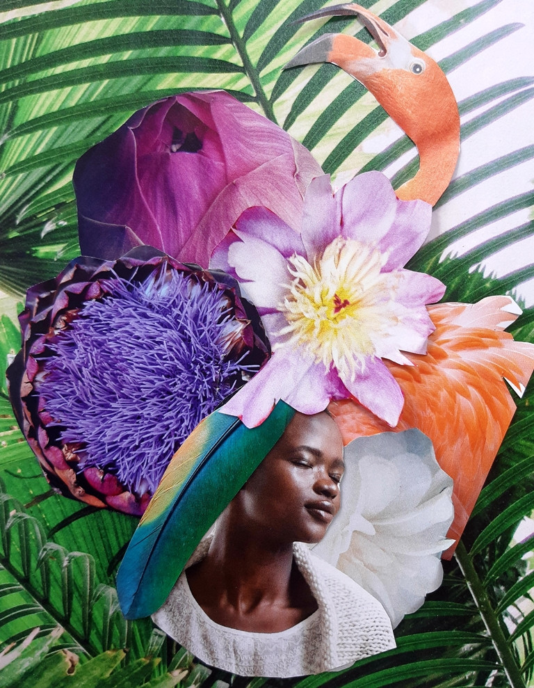 Tropicalité by Jeanne Glorian Copyright