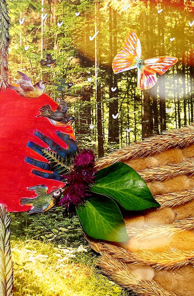 Forêt by Jeanne Glorian
