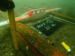 造船所、調査潜水、レール