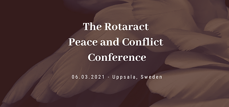The Rotaract Peace and Conflict Conferen