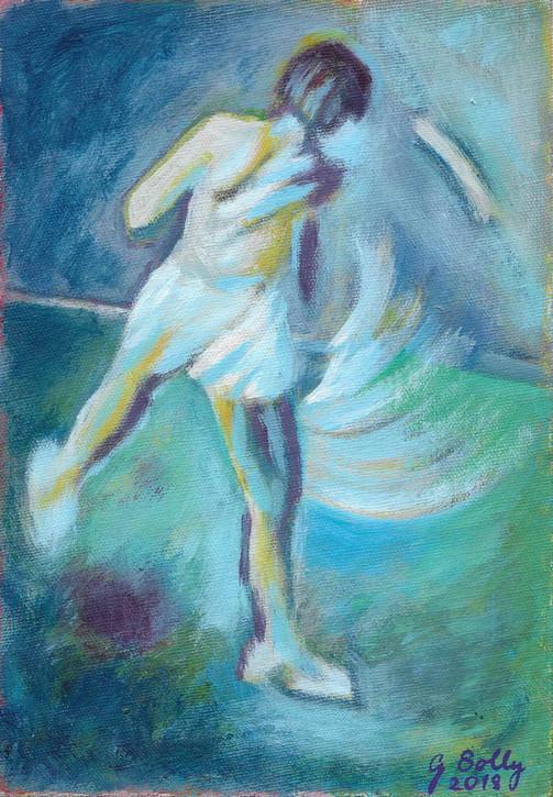 'Moving Figure No 3: 'Follow Through'