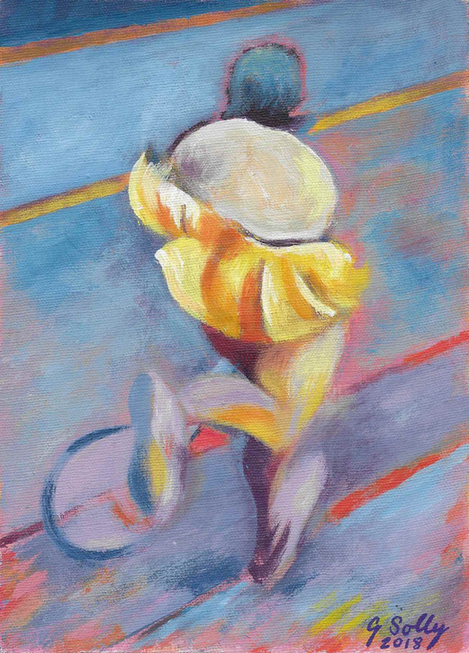 Moving Figure No 4: 'On the Run'