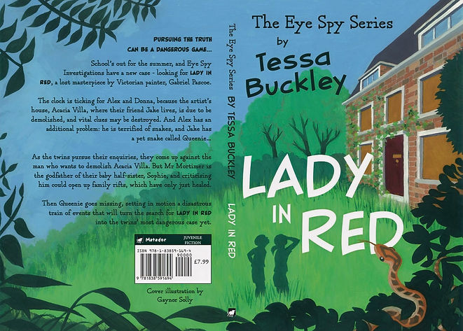 Lady in Red by Tessa Buckley