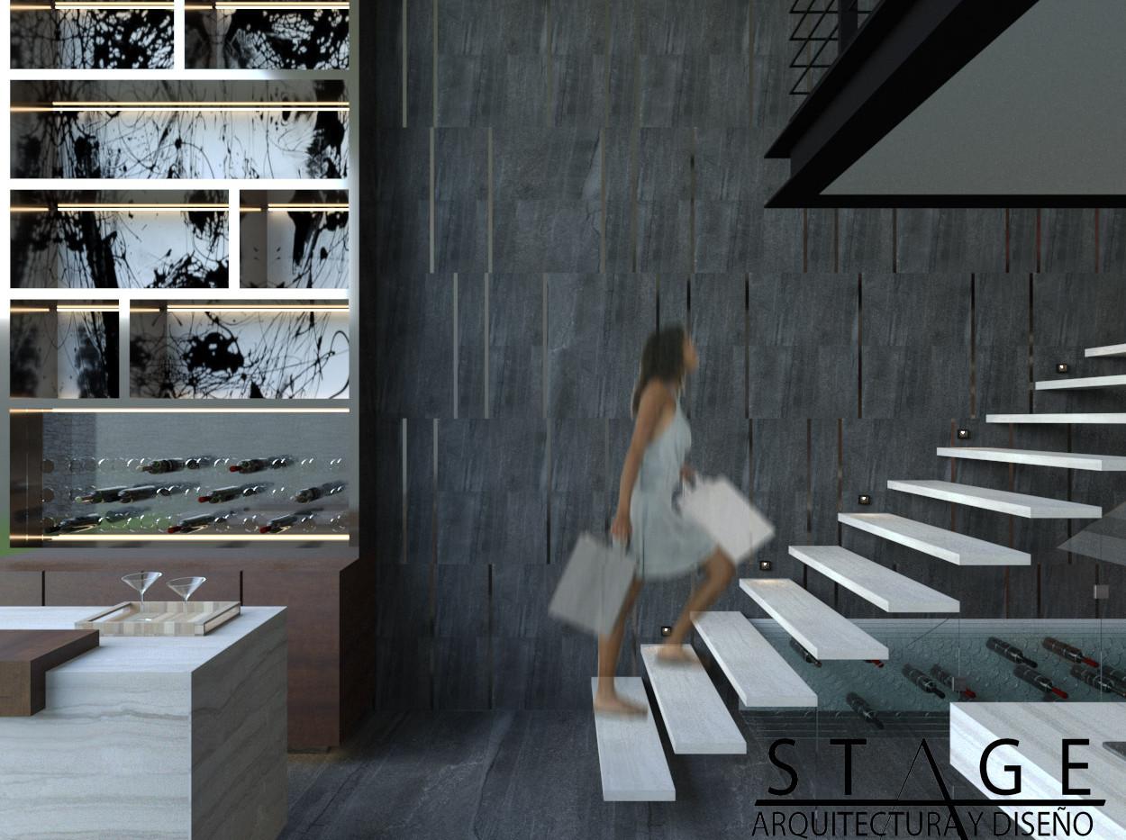 Escaleras Loft Palmas