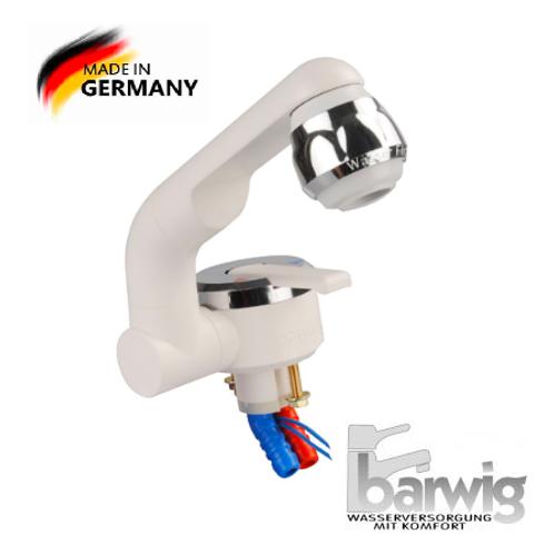 Llave monocomando fria caliente con switch incorporado Alemania