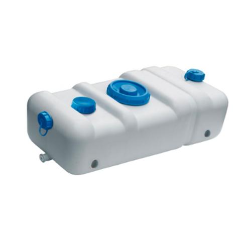 Estanque para agua potable. Plástico libre de radicales