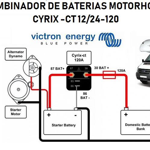 VICTRON Combinador de Carga de Baterias para Motorhome