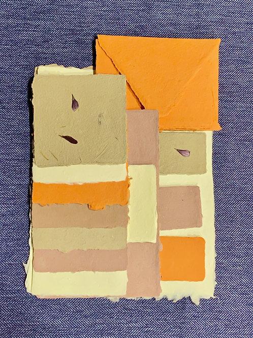 Warm Tones Paper Set - Large