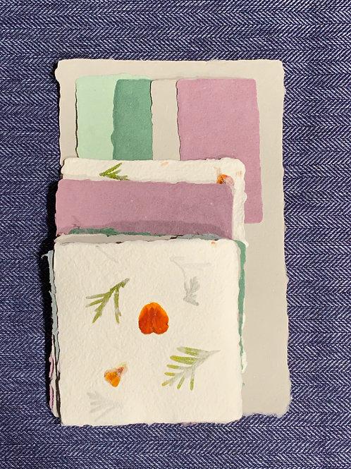 Cool Tones Paper Set - Small