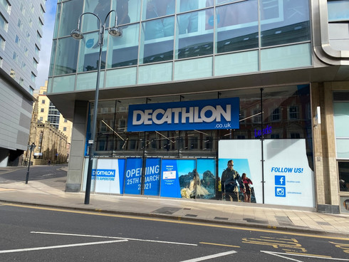 Decathlon UK opens new city centre store in Trinity Leeds spanning 35,000 sq ft