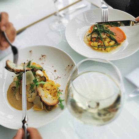 Autumn dining at The Forth Floor Brasserie
