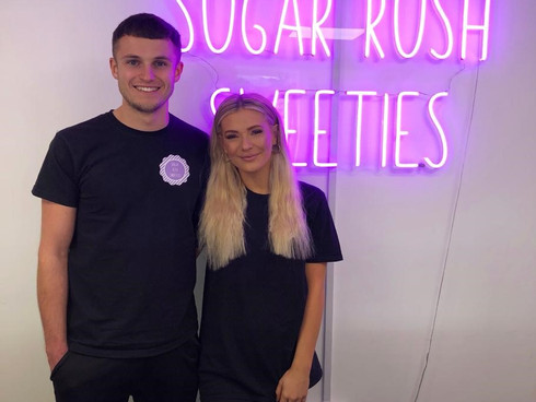 The smell of 'Sweet Success' for two Leeds young entrepreneurs