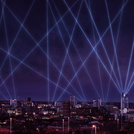 Light Night goes to new heights to give Leeds a ray of hope