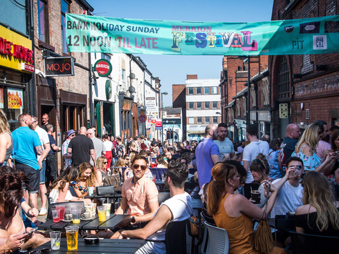 Local Bar operators join forces to launch Leeds largest outdoor covered drinking area.