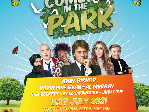 Comedy In The Park is coming to Leeds