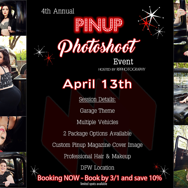 4th Annual Pinup Photoshoot