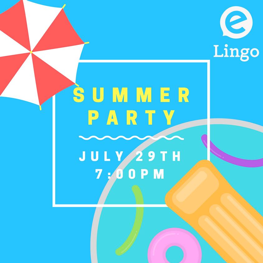 eLingo Summer Party