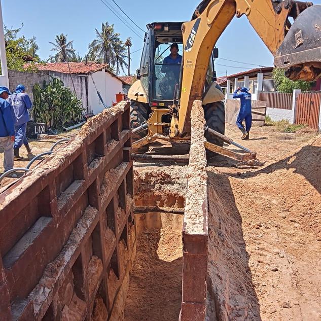 Sistema de Esgotamento Sanitário - Extremoz (Saneamento das praias: Contenda, Pitangui, Graçandú e Barra do Rio)
