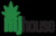 Mjhouse logo cannabis light weed